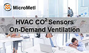 HVAC Sensors CO2 And On Demand Ventilation At MicroMetl