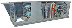 HVAC Cutaway At MicroMetl Corporation