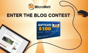 MicroMetl Blog Contest Banner