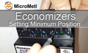 Economizers Setting Minimum Position At MicroMetl
