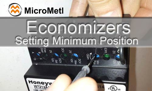 Economizers – Setting Minimum Position