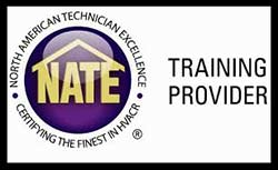 NATE MicroMetl Training Logo
