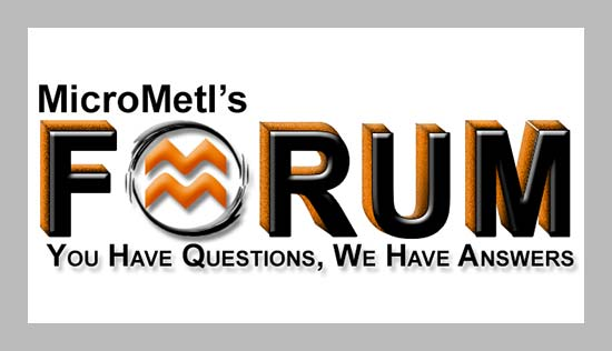The New MicroMetl Open Forum