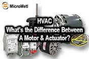HVAC Motors And Actuators At MicroMetl Small