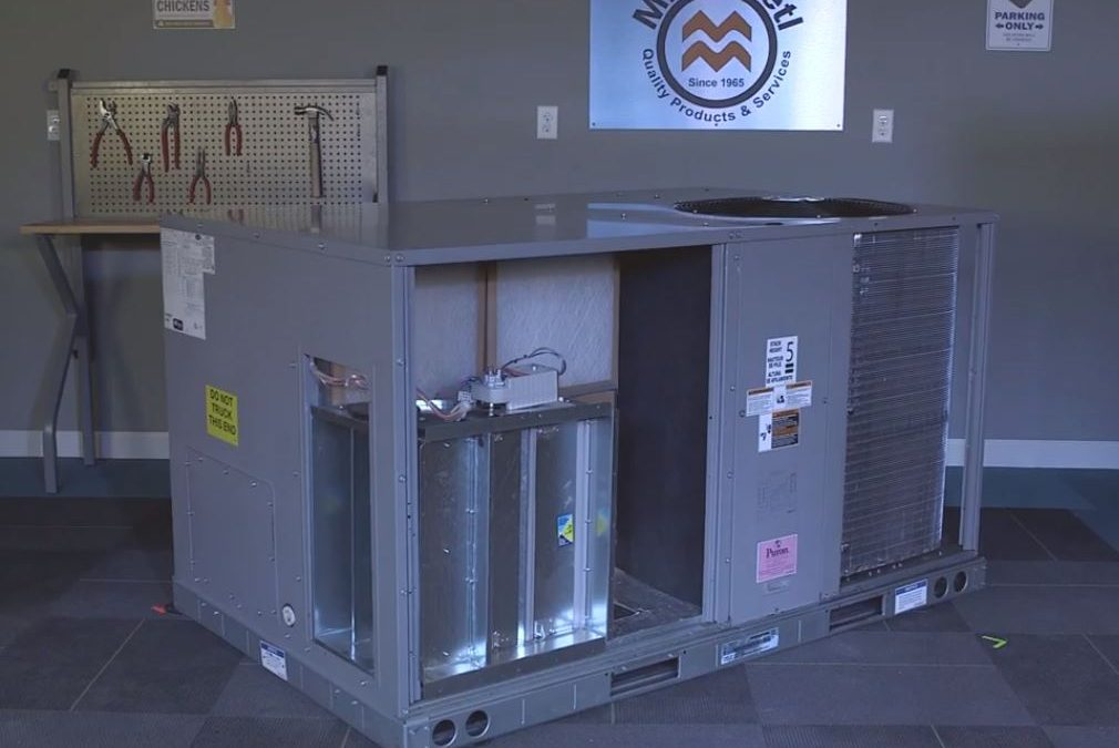 Economizer Installation Instruction Into A SRT Carrier, Bryant, ICP Rooftop!