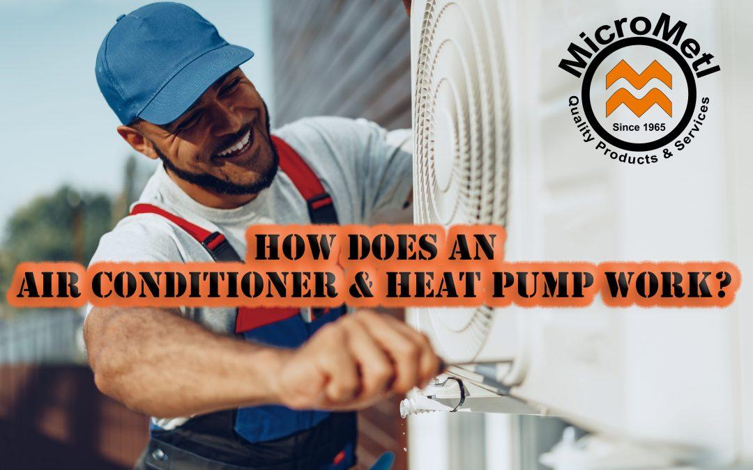 How Does An Air Conditioner & Heat Pump Work? – Basic HVAC Tutorial